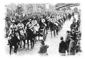 Las tropas francesas ocupan la cuenca del Ruhr, 1923