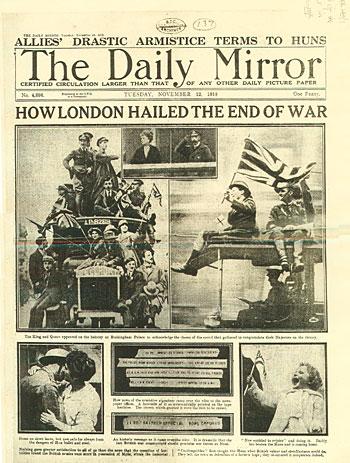 Primera guerra mundial en imágenes.