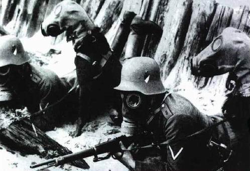 La primera guerra en imagenes